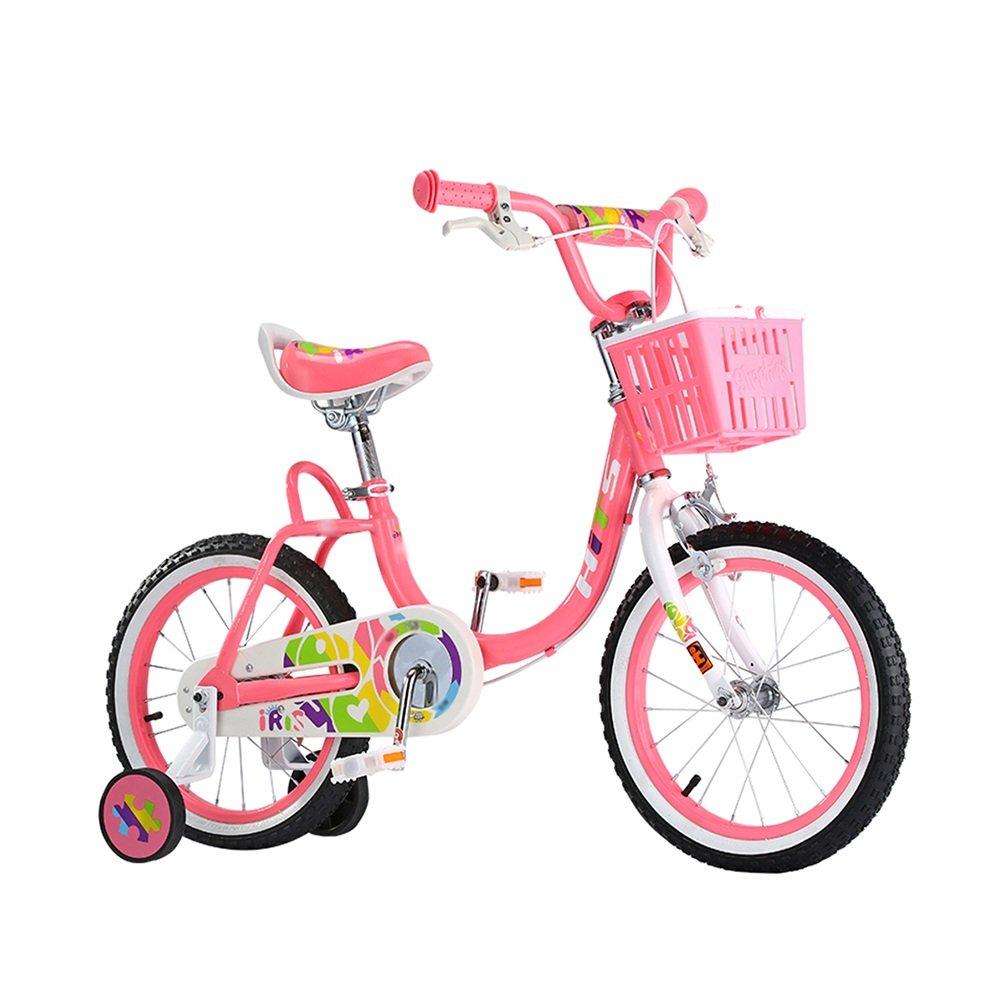 HAIZHEN マウンテンバイク 子供用自転車 ホワイトピンク 16インチ アウトドアアウト 新生児 B07C6V83R3ピンク ぴんく