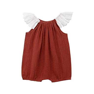 Outfits & Sets Girls' Clothing (newborn-5t) Cooperative Baby Girl Knitted Romper 3-6 Months