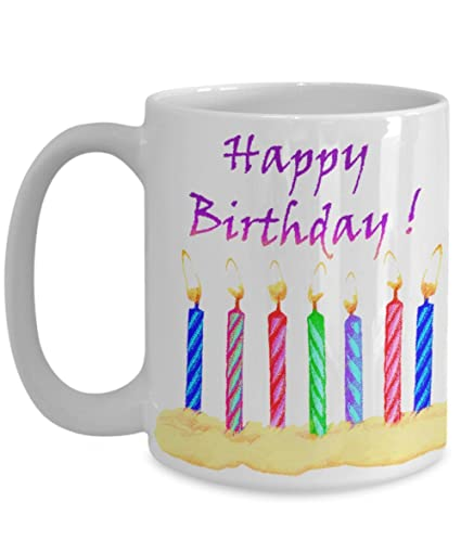 Image Unavailable Not Available For Color Mug Birthday Cake Gift