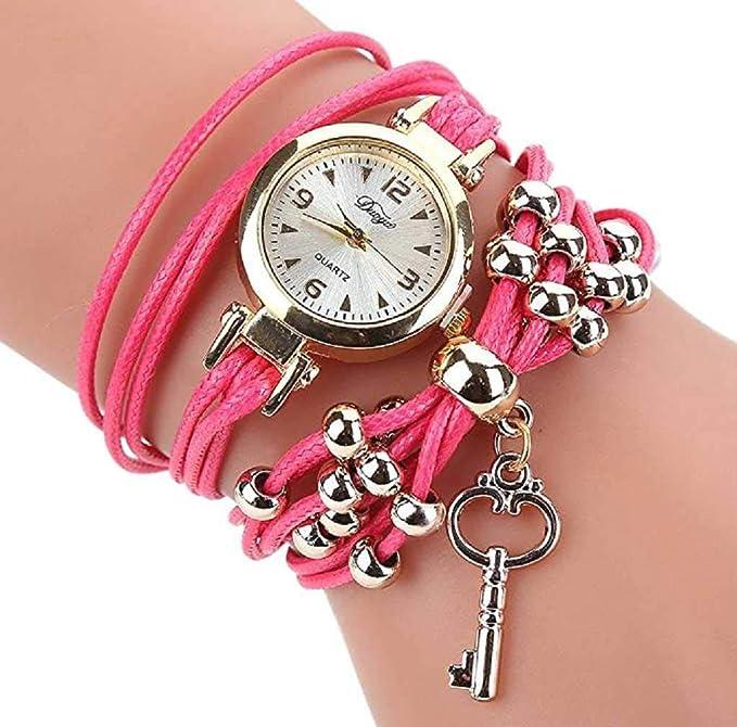 Amazon.com: Clearance Sale! Womens Watches, ICHQ Womens Bracelet Watches Ladies Teen Girls Fashion Minimalist Casual Quartz Bracelet Wrist Watches (Gray): ...