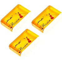 String Rosin for Violin Viola and Cello Rosin for Bows (yellow 3 pack)