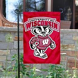 Wisconsin Badgers UW Garden Flag and Yard Banner