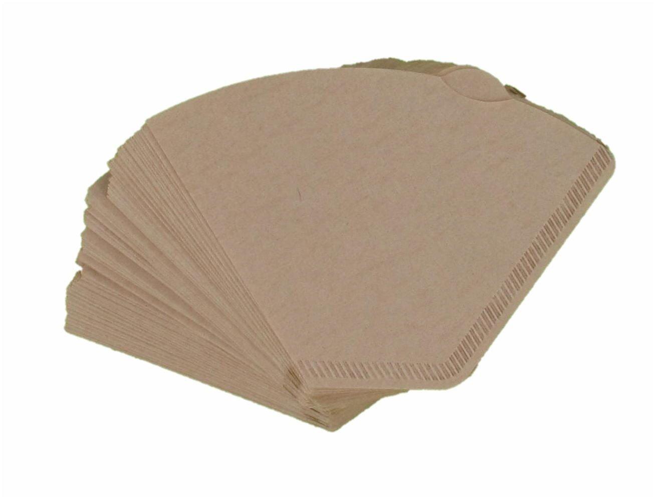 Papeles de filtro de café 200 unidades), color marrón tamaño ...
