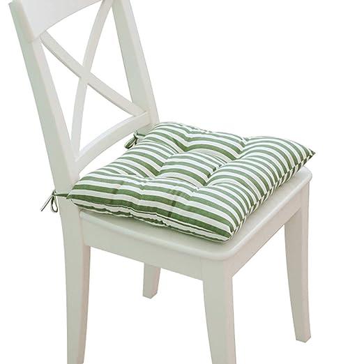 TEDAMIR Cojines para sillas de Cocina Cuadrado Tatami ...