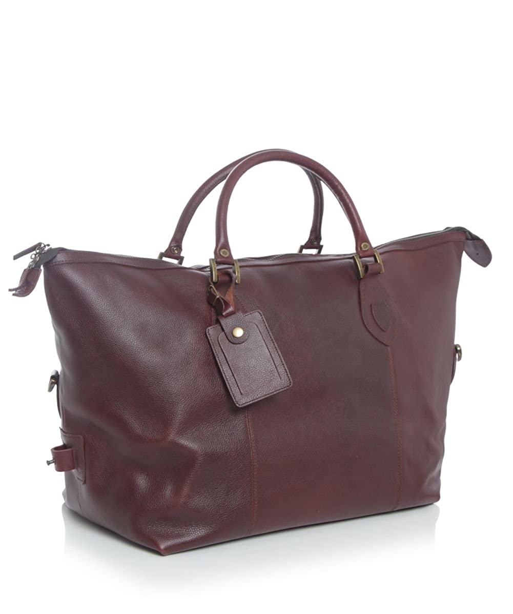 Amazon.com   Barbour Medium Travel Explorer Leather Bag - Dark Brown    Travel Duffels a6796cf788