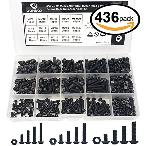 Comdox 436pcs Button Socket Assortment product image