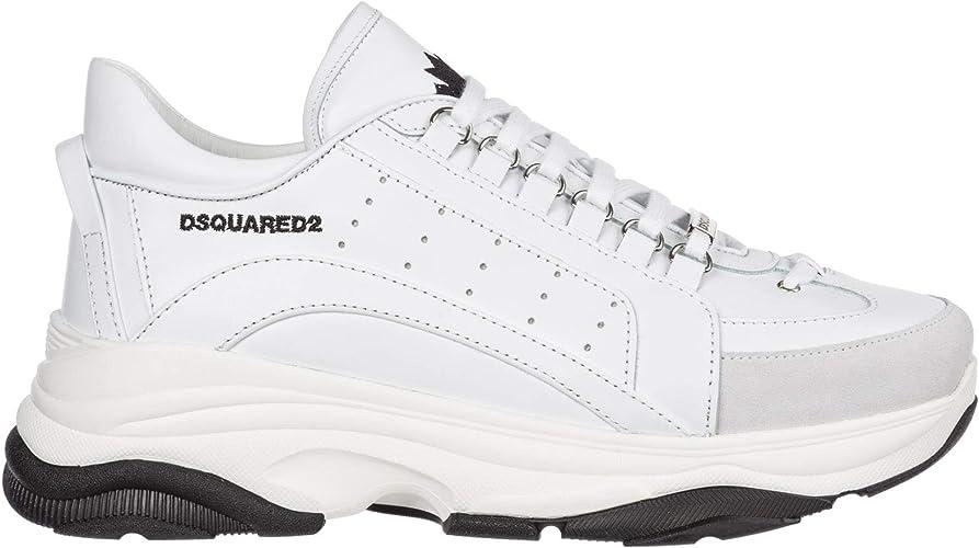 Dsquared2 Basket Homme Bianco + Bianco + Nero
