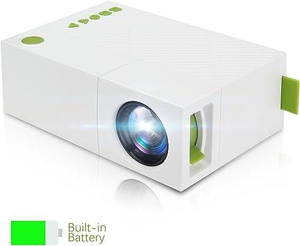 TKSTAR Mini Proyector, portátil LED Mini Mobile Bolsillos ...