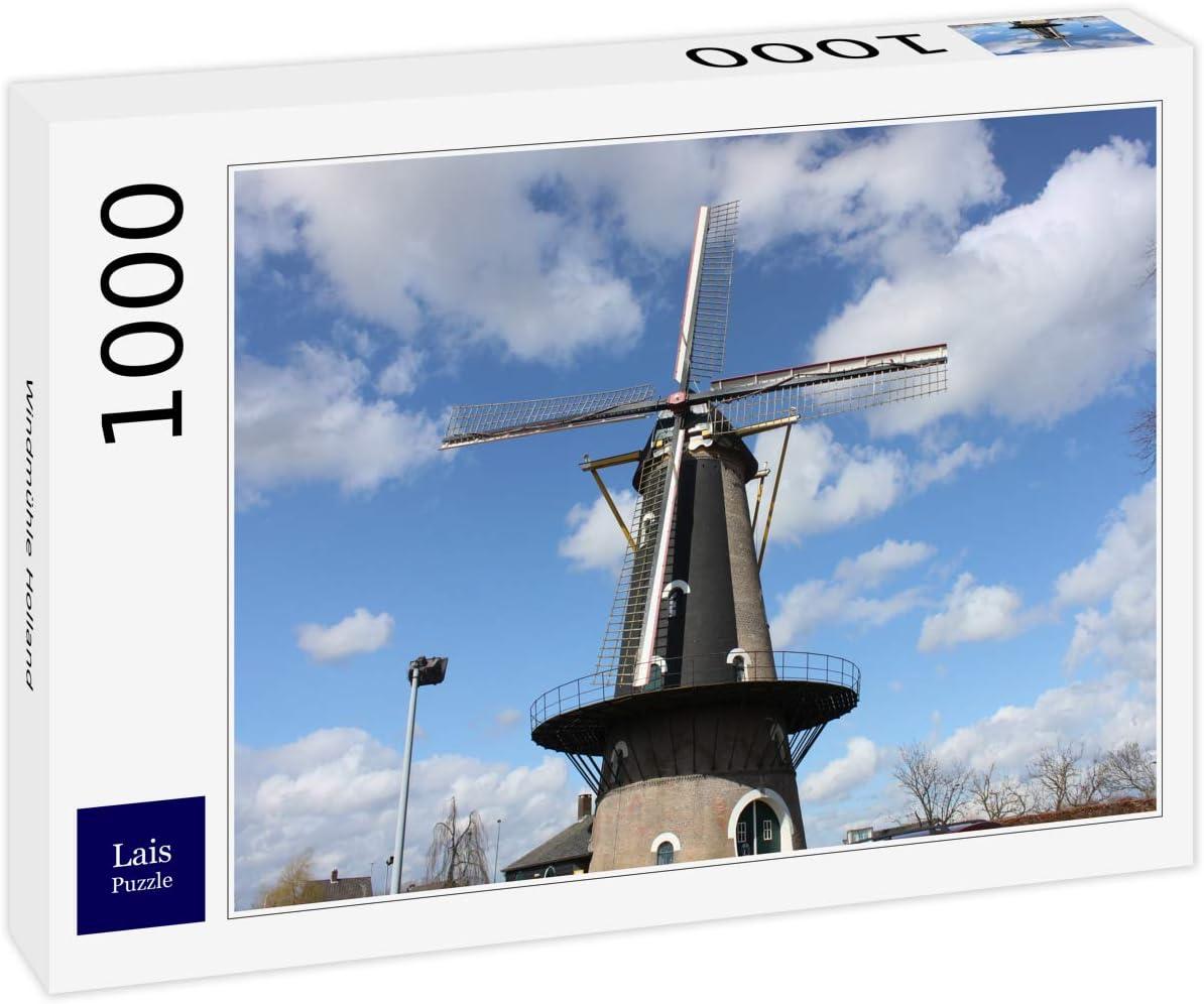 Lais Puzzle Molino de Viento Holanda 1000 Piezas: Amazon.es ...