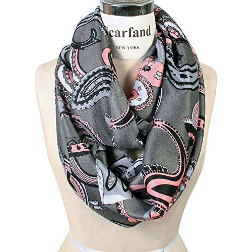 Scarfand Vibrant Painting Artistic Infinity