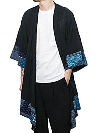 Happi Kimono Übergangsjacke Burlady Jacke Haori Herren Japan Mäntel oCrdxeWB