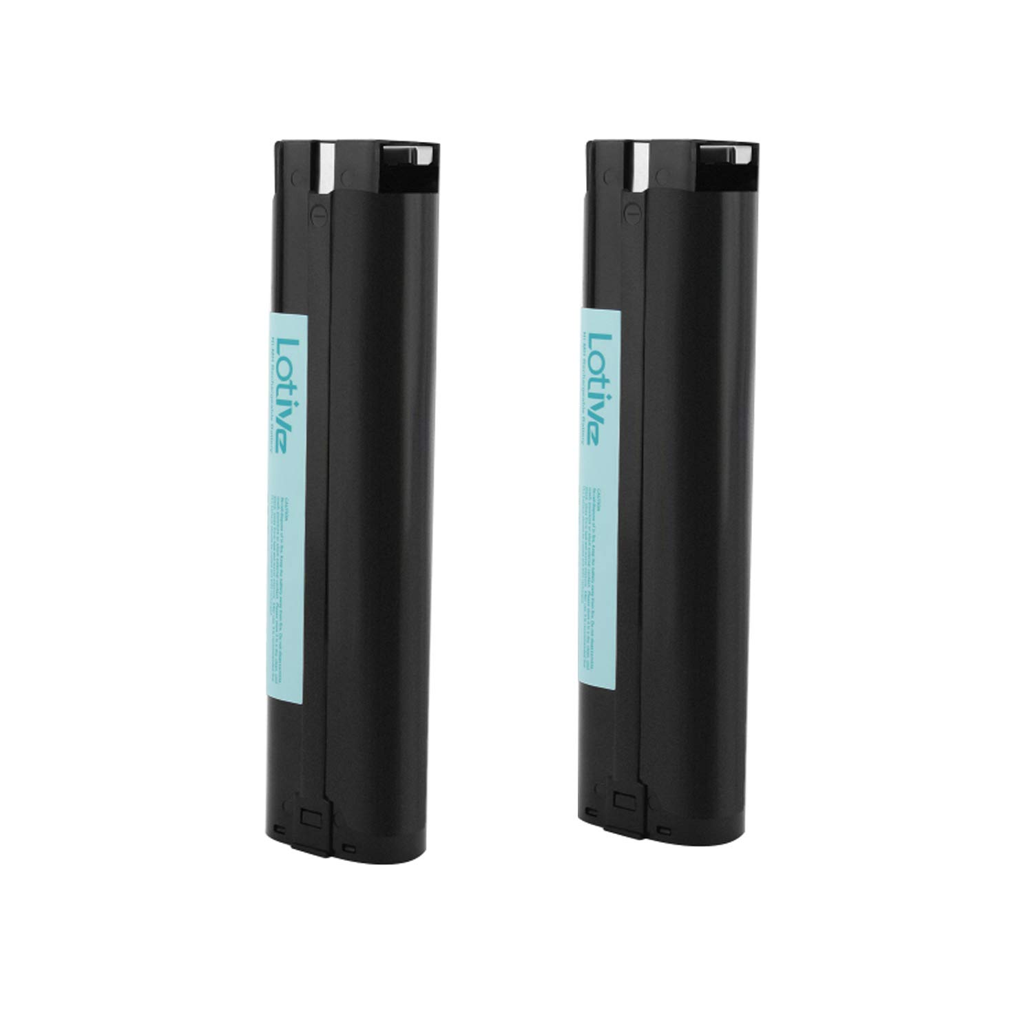 Lotive 2 Pack 9.6V 3000mAh Ni-MH Battery Replace for Makita 9.6V Power Cordles Drill 9600 9001 9000 9002 9033 96003 192696-2 193890-9 632007-4 Ni-MH Replacement Battery Pack