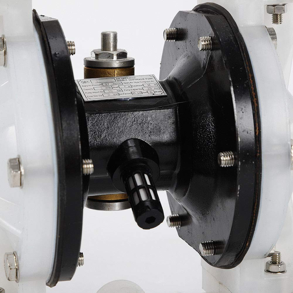 Double Diaphragm Pump USA Stock Heavy Duty 1//2inch Air-Operated Double Diaphragm Pump Outlet Petroleum Fluids