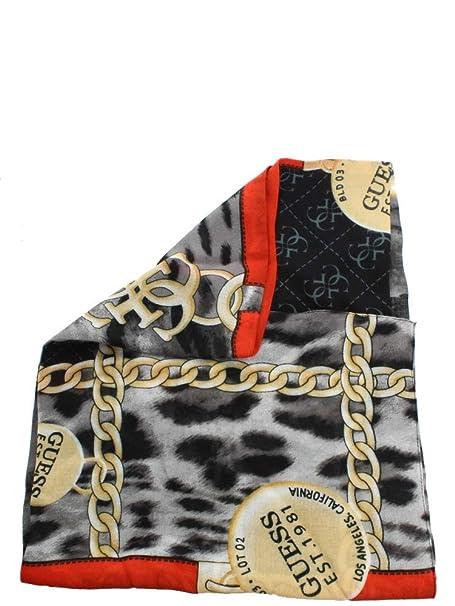 da10e18969e3 Guess Not Coordinated Kefiah Scarf Black  Amazon.fr  Chaussures et Sacs