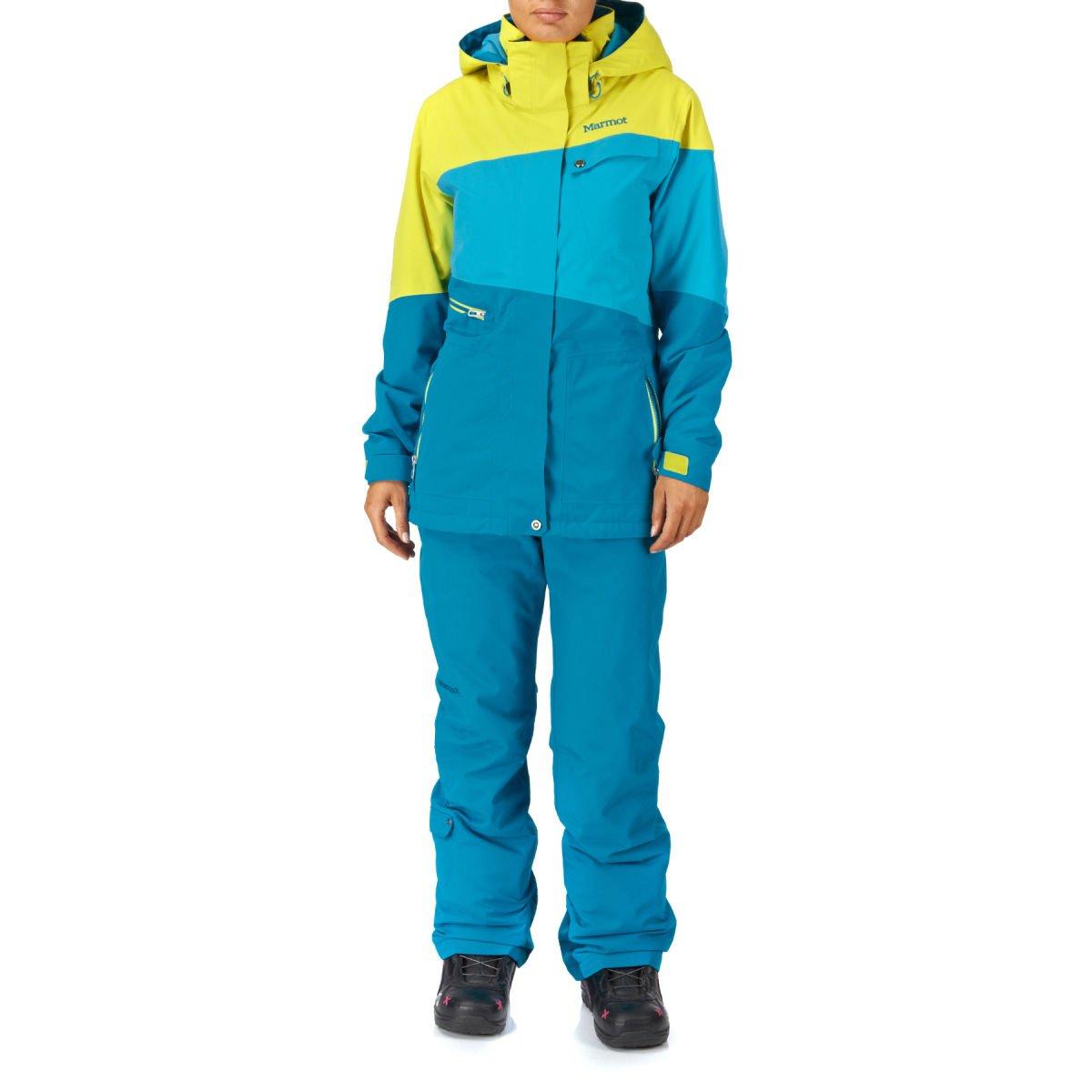 Marmot Skyline Pantalon de Ski Femme, isolants XL blu