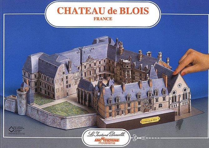 Chateau Blois: Scale Architectual Paper Model (Chateau Model)