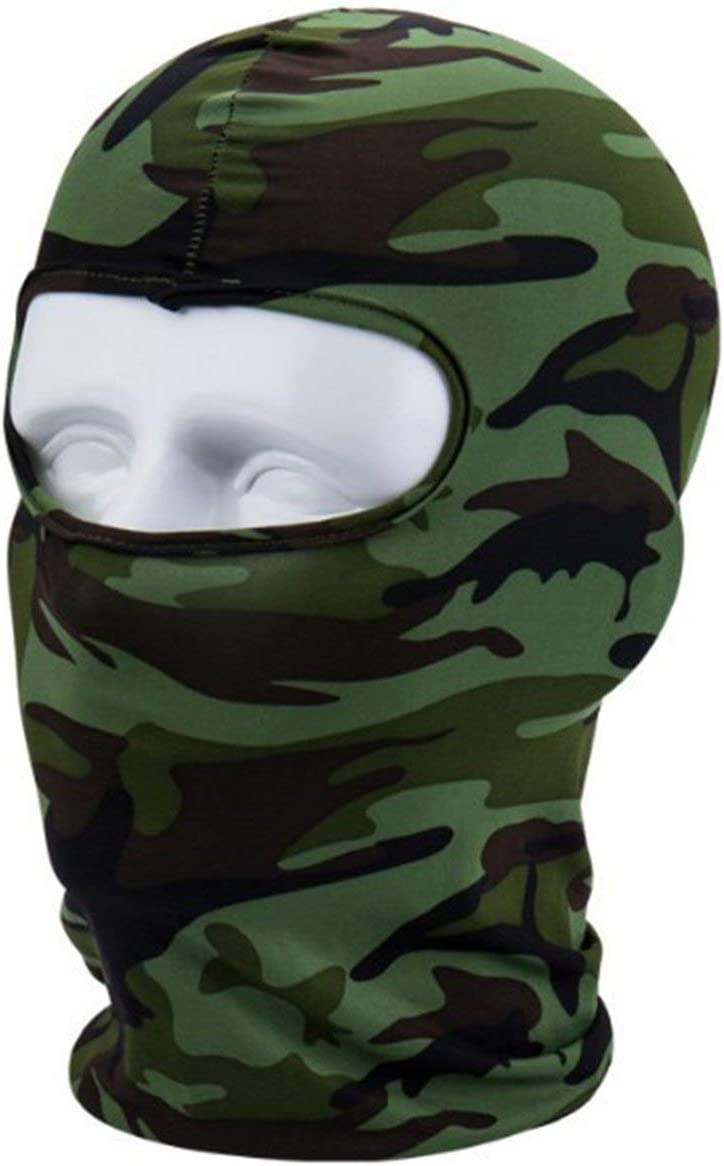 Camouflage IronHeel Camouflage Winter Fleece Warm Full Face Cover Anti-dust Windproof Ski Mask Snowboard Hood Anti-dust Bike Balaclavas Scarf L