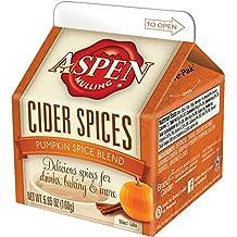 Aspen Mulling Cider Spices, Pumpkin Spice Blend, 5.65-Ounce Carton