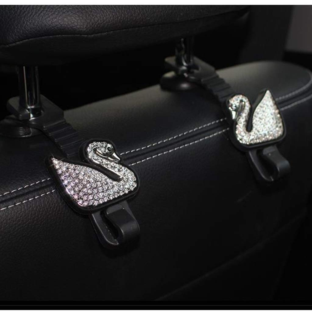 Car Multi-Function car hook seat Back Hook car seat Back Hook Hanging Creative car Interior Small Hook (Color : Black, Size : 11.5cm) by Car hook (Image #5)