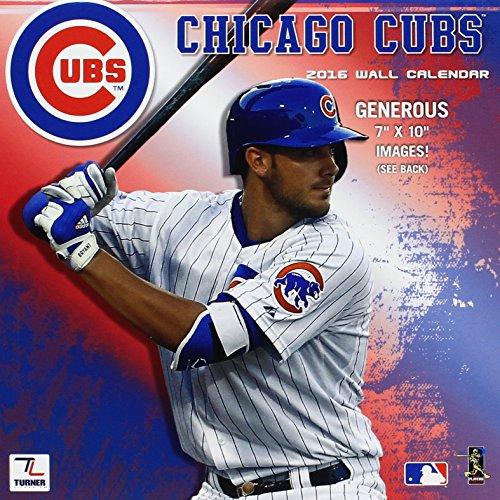 Chicago Cubs 2016 Mini Wall Calendar