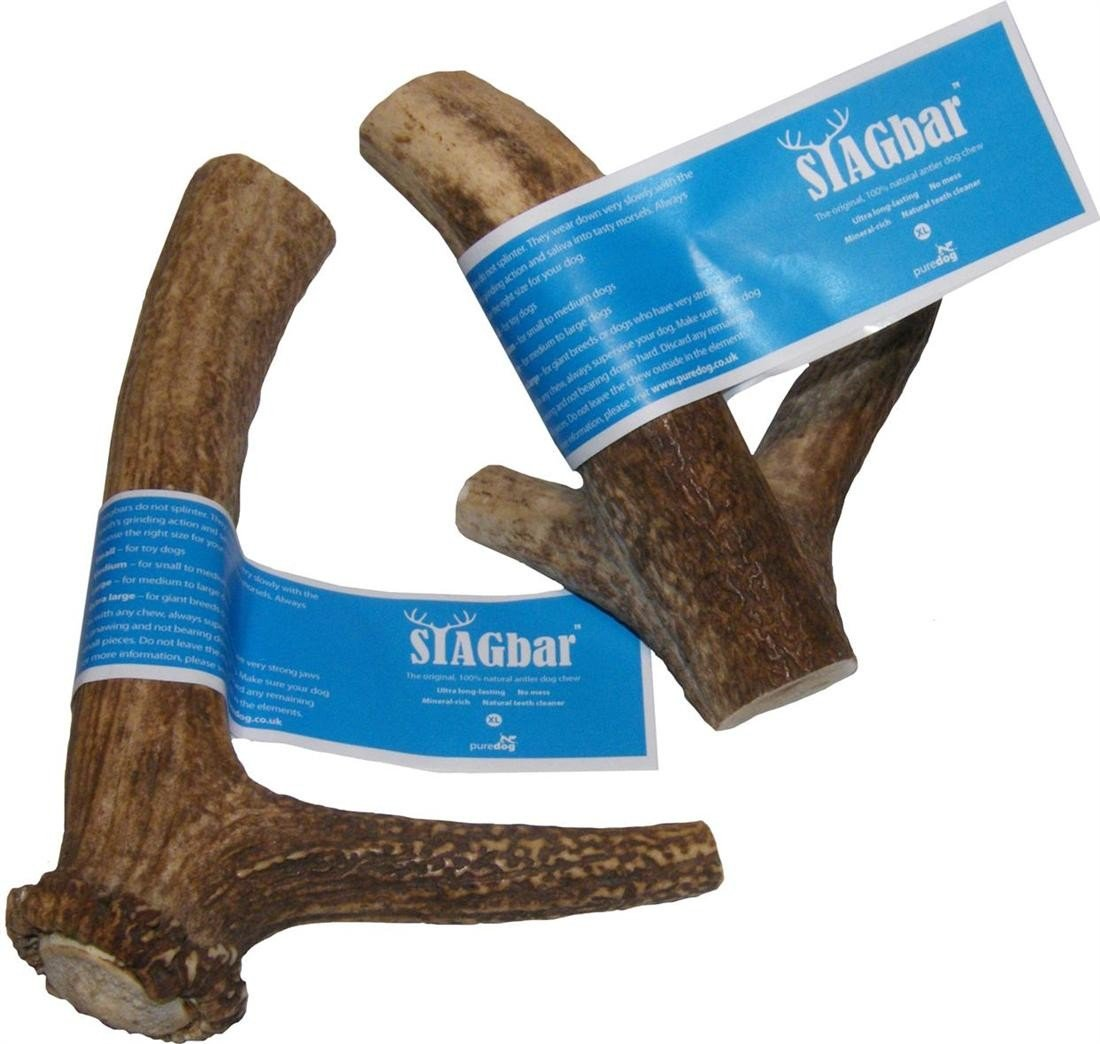 Pure Dog Stag Bar Extra Large 225G+