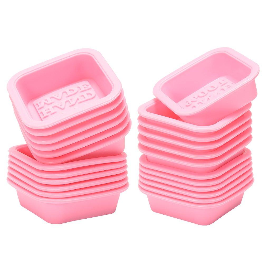 etbotu 100% fabricado en silicona reutilizables Jabón Forma Rosa ...