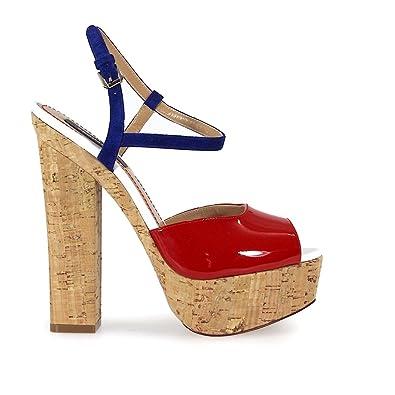 Sandales En Daim Et Velours Automne / Hiver Dsquared2 R5toUTrGd
