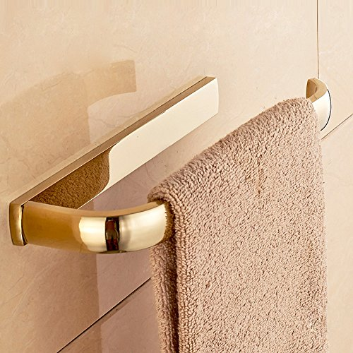 ETmla Copper plated European luxury towel ring towel hanging bathroom hardware pendant by ETmla (Image #3)
