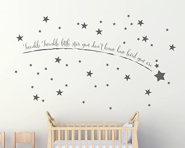 Shooting star wall art childrens wall stickers kids wall stickers nursery wall stickers childrens wall