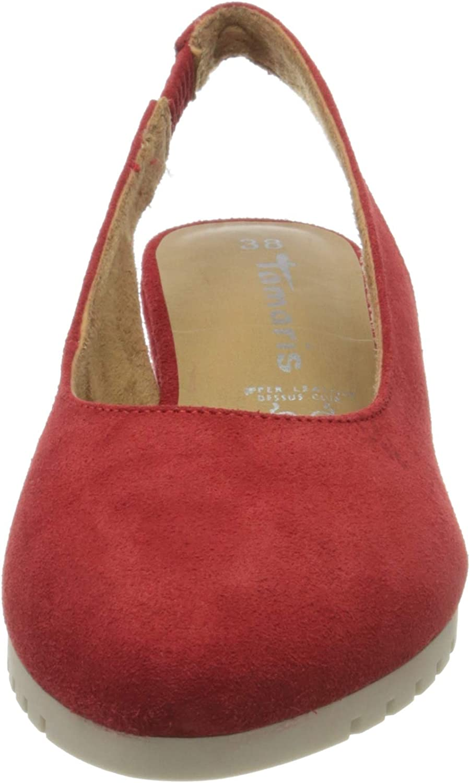 Tamaris 1-1-29504-24, Escarpins Femme Rouge Lipstick 515