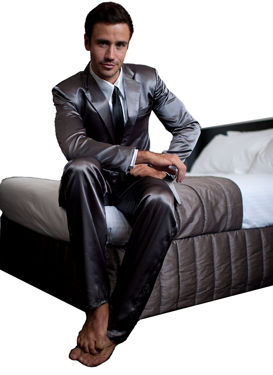 The Official Men's Legendary Suitjamas (Silk Suit Pajamas) at ...