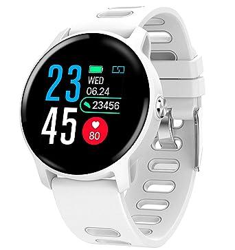 Reloj Inteligente Smartwatch, Android y iOS compatibles, Redondo ...