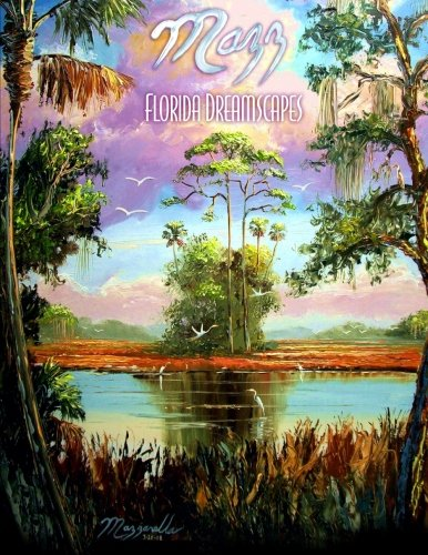 Florida Art Highwaymen Painting - Mazz: Florida Dreamscapes