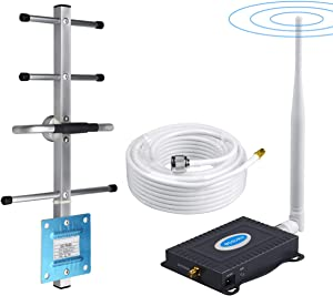 Cell Phone Signal Booster AT&T 4G LTE T-Mobile US Cellular Band12/17 FDD ATT Cell Signal Booster AT&T Cell Phone Booster ATT Signal Booster Extender Cell Booster Amplifier Boost Voice+Data for Home