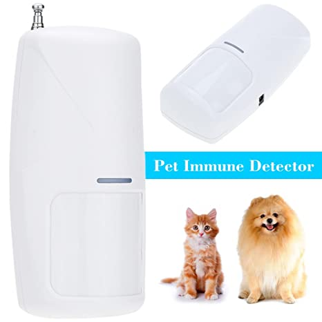 Amazon.com : Wireless 433 MHz PIR Detector Sensor Alarm Anti-pet Recognition 10KG Motion For Home Security Alarm System : Everything Else