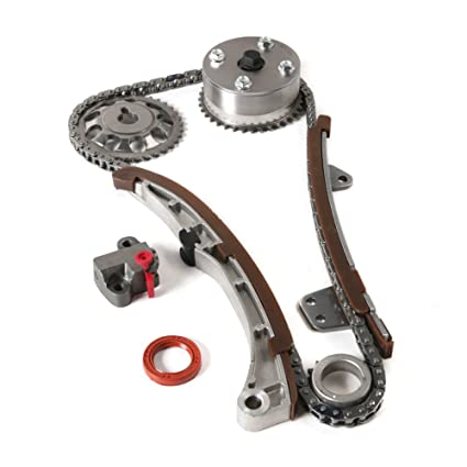 Timing Chain Kit with VVT-i Intake Adjuster Actuator Compatible for  2001-2015 Toyota Yaris Echo Prius & 2004-2006 Scion XA XB 1 5L L4 DOHC 16  Valve