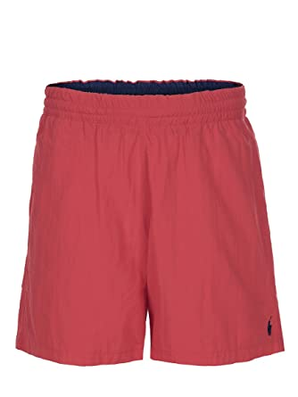 bb2210dfc66f Ralph Lauren - Short de bain Hawaiian rouge - Homme (L)  Amazon.fr ...