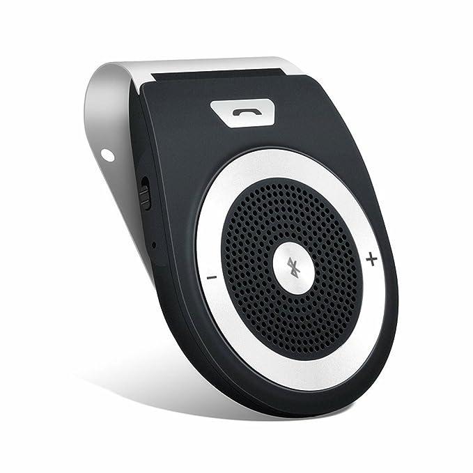 150 opinioni per Aigoss Vivavoce Bluetooth 4.1 da Auto con Controllo Vocale, Car Bluetooth per