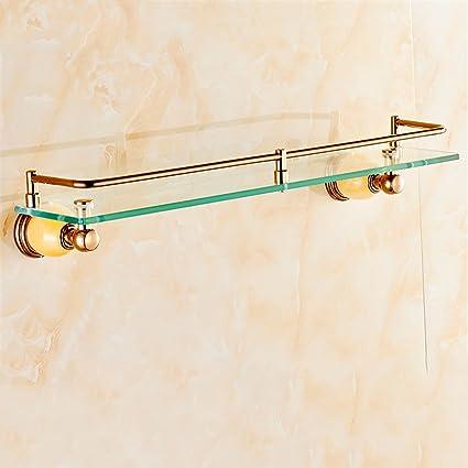 Hlluya Toallero El Oro Rosa Toalla de baño Toalla Kit de Rack Suite Jade, incorporada