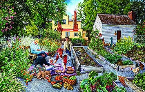 Garden Scene 1000 Piece Jigsaw Puzzle by SunsOut