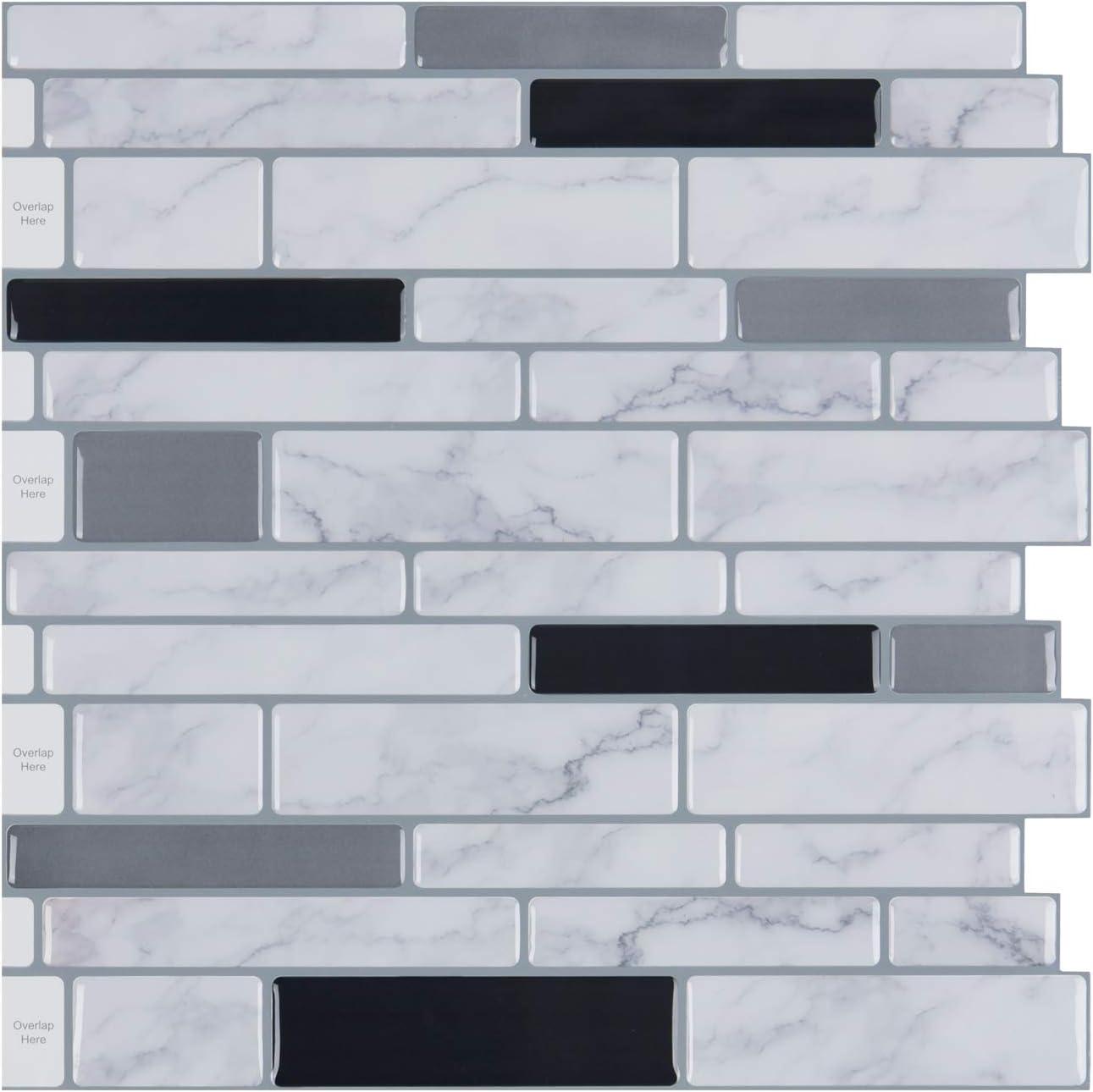 2M Self-Adhesive Side Line Tile Sticker Bathroom Kitchen Restaurant Wall St D3K6