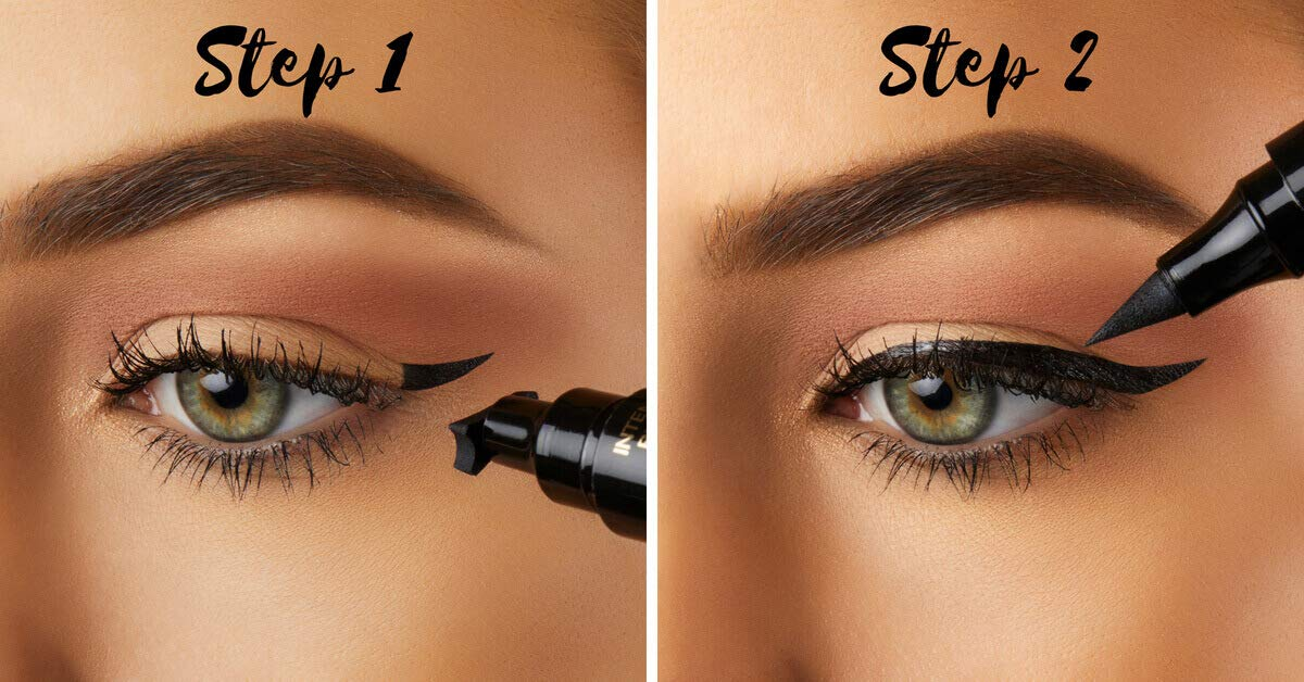 The Quick Flick Eyeliner Stamp - Grand (12mm) Intense Black by The Quick Flick (Image #2)