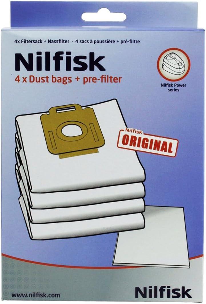 Potencia mtxtec Nilfisk P10 P20 P40 alergia PW10 PW20 + filtro de ...