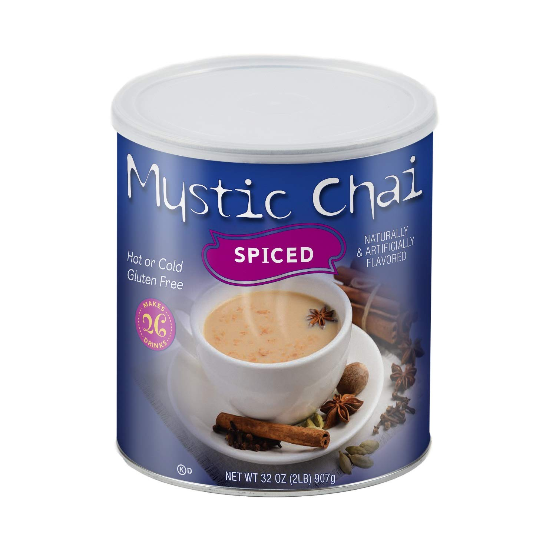 Big Train Mystic Chai, Spiced, Chai Tea Latte Mix, 2 Lb by Mystic Chai