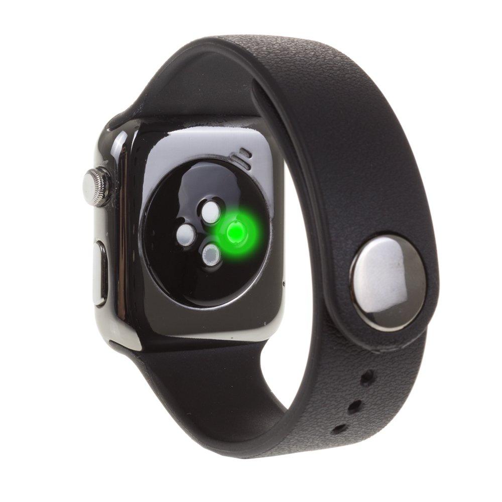 DAM - Smartwatch A9 Black. Sincronización de notificaciones (iOS&Android), llamadas, historial de llamadas, sms y agenda, reproducción y control de la ...