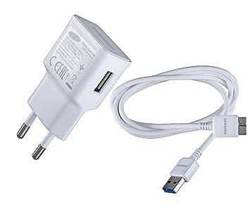 Samsung Cargador de Viaje EP-TA10EWE con Cable de Carga Micro-USB 3.0 Color: Blanco