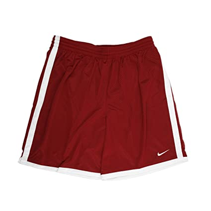 Nike Mens Dri-FIT Maroon//White Basketball Shorts Large