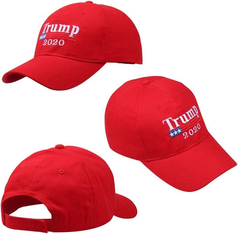 Rue du Cap Chapeau De Soleil Automne Hiver R/églable avec Hoop Trump Unisexe /élection Chapeau Femme Casquette De Baseball Hommes Hip Hop Hat Loisirs /étudiants