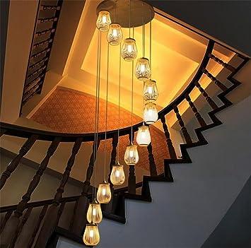XDDCDL Lámpara de Techo Colgante Linterna Lámpara Colgante ...