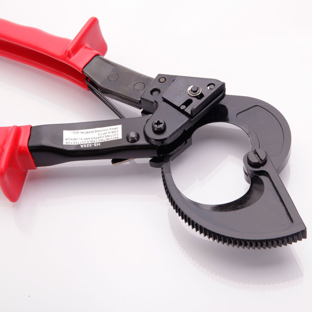 Z ZTDM Portable Ratchet Cable Cutter Cut up to 240mm² , 11-Inch HS-325A Ratcheting Wire Cut Hand Tool by Z ZTDM (Image #5)